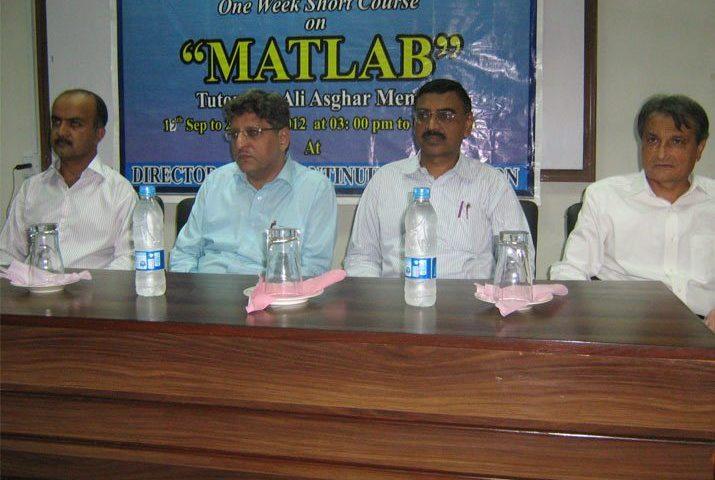 U.S.A, famous Simulation software MATLAB , MUET Jamshoro