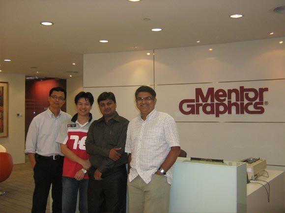 Mentor Graphics, Singapore