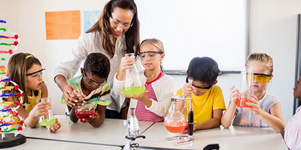 Gap in kids STEM Education